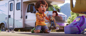 Bonnie forky and woody