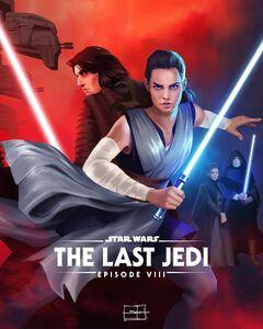 Disneyplus - May 4th - The Last Jedi Art