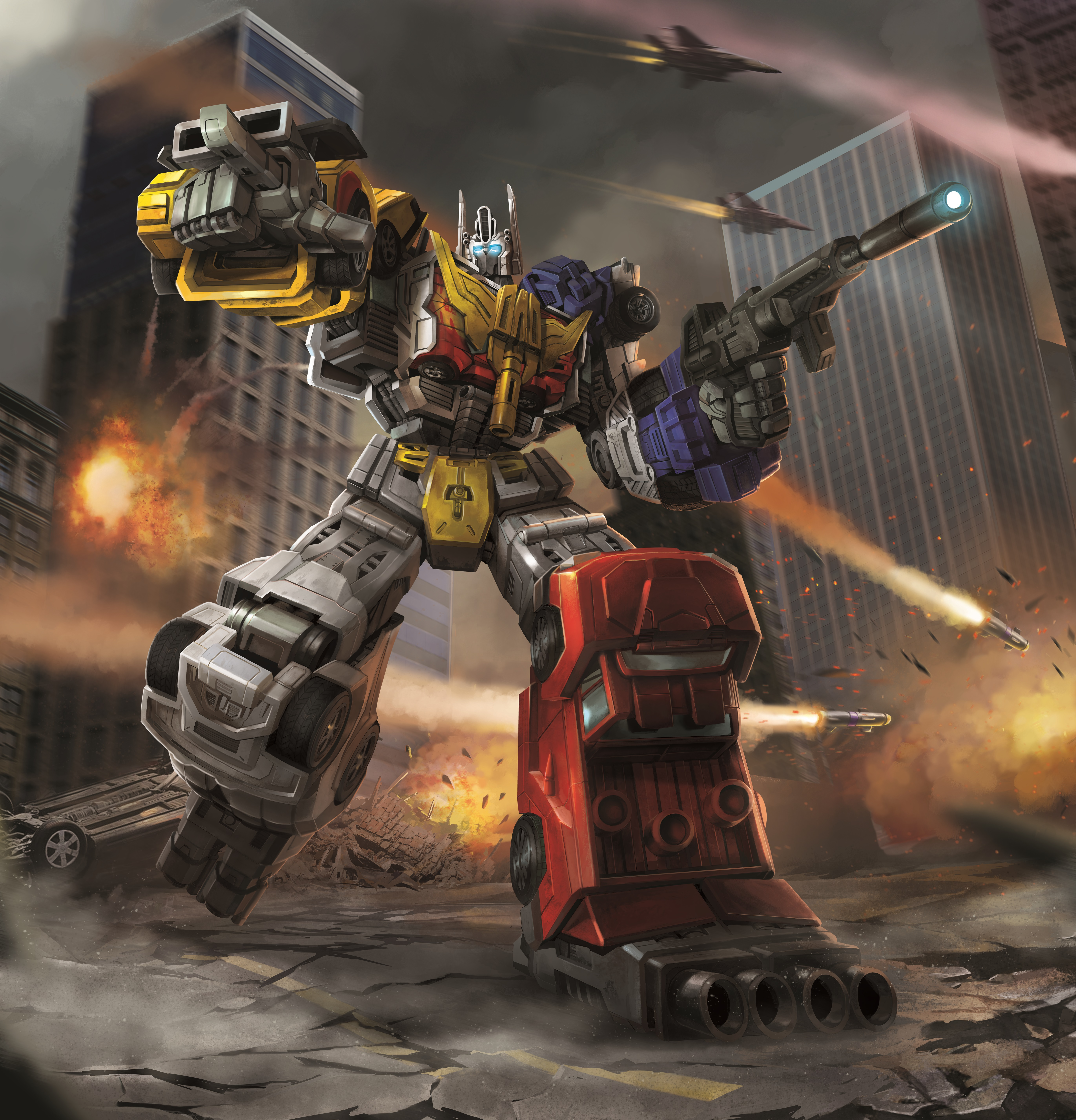 Optimus Maximus (Combiner Wars)