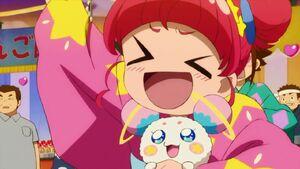 STPC25 Hikaru is happy for Elena