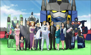 The All Main Characters of TransFormers Cybertron (Ending)