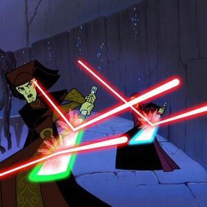 Luminara Barriss battling.jpg