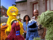 Oscar tells everyone that elmo is in grouchland