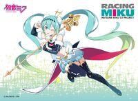 Yande.re 458063 hatsune miku heels kanzaki hiro racing miku stockings thighhighs vocaloid weapon