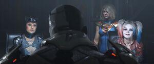Catwoman Harley Cyborg Kara