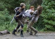 Christian Serratos as Rosita Espinosa in The Walking Dead 423