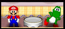 Mario party 2 mario and yoshi in the bakery