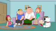 The entire Griffin family