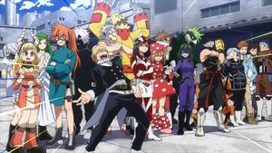 Class 1-B Hero Costumes (Anime)
