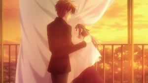 Kyo and Tohru Hugs