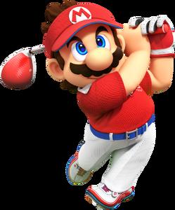 MGSR Mario artwork