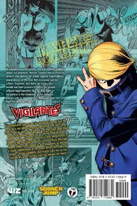 My Hero Academia Vigilantes Manga Volume 7 Back Cover