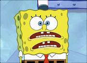 SpongeBob gibbering