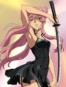Yuno Gasai- Swordswoman 1