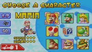 Mario Kart Super Circuit - All Characters
