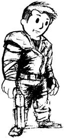 Vault Dweller after his exile
