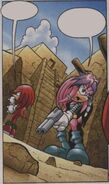 9 Julie-Su and Knuckles search for Finitevus' lair 2