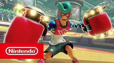 ARMS - Meet Spring Man (Nintendo Switch)