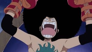 Luffy in boxing