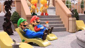 Mario and Luigi in Robot Chicken