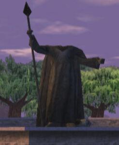 Statue of King Jerrod