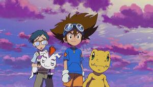 Ep 47 - Joe, Gomamon, Taichi and Agumon