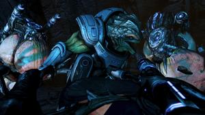 Grunt vs. Ravagers