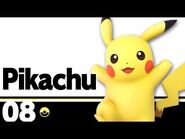 08- Pikachu – Super Smash Bros