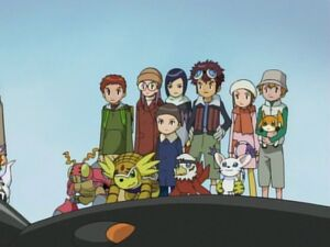 7 DigiDestined and 5 Digimon Partners