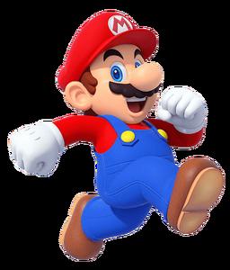 Mario and Sonic Tokyo 2020 Mario artwork