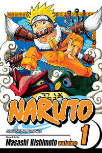 Naruto v01 Cover