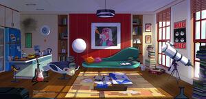 Professor Squakwenclun's Room