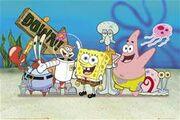 SpongeBob and friends