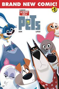 The Secret Life of Pets 2 Comic Book