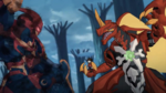 Drago facing Bakuzon Cyndeous (I'm afraid so)
