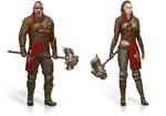 Templar warlock male
