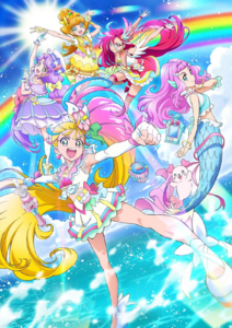 Tropical-Rouge! Pretty Cure poster visual