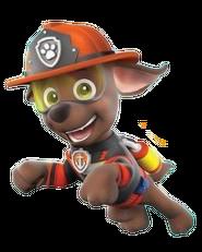 Zuma Ultimate Rescue fire uniform