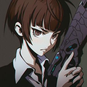 Akane Tsunemori- Serious