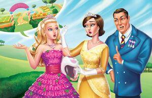 Book Illustration of Princess Power 1