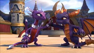 Cynder and Spyro are Cool
