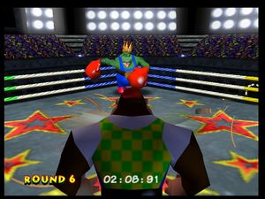 Donkey Kong 64 chunky vs krool