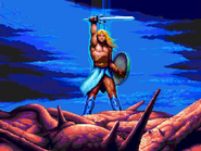 Genos victorious over Galbalan