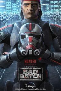 Hunter character poster
