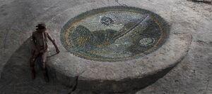 Jedi Temple mosaic concept art