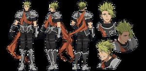 Achilles character sheet