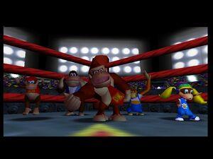 Donkey Kong 64 kong family