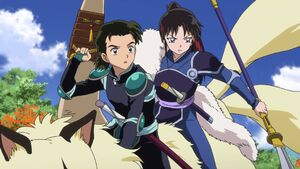 Hisui and Setsuna