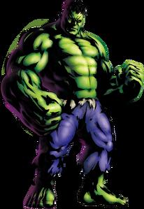 Hulk MvC3 artwork