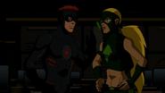 Kid Flash and Artemis